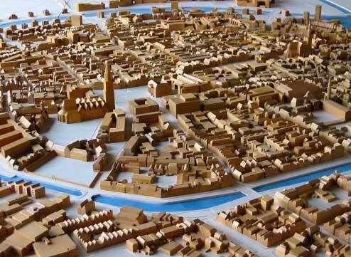 Binnenstadsmaquette Groningen