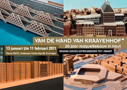 Van de hand van Kraayenhof - Expo - 13 januari t/m 11 februari 2011, verlengd tot 1 maart!
